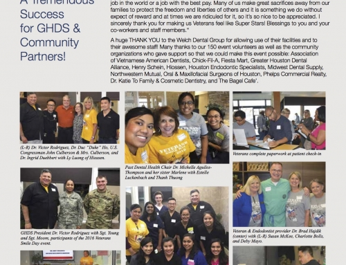 Reflecting on 2016 Veterans Smile Day
