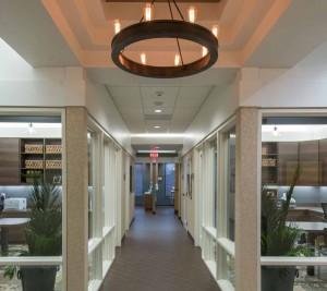 Family Dentist Hallway