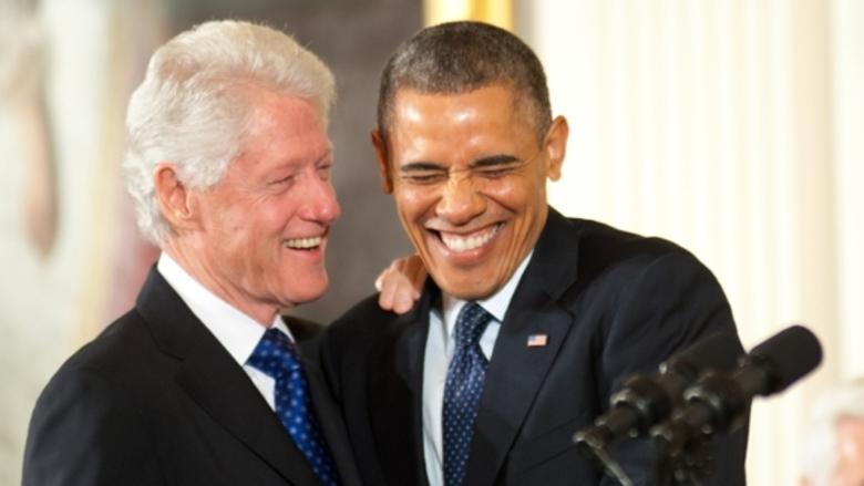 presidential smiles